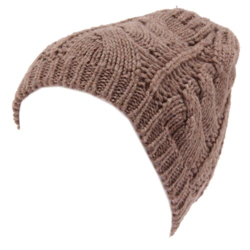8285W cappello donna MARTISSIMA BY MARTA MARZOTTO light brown wool hat woman