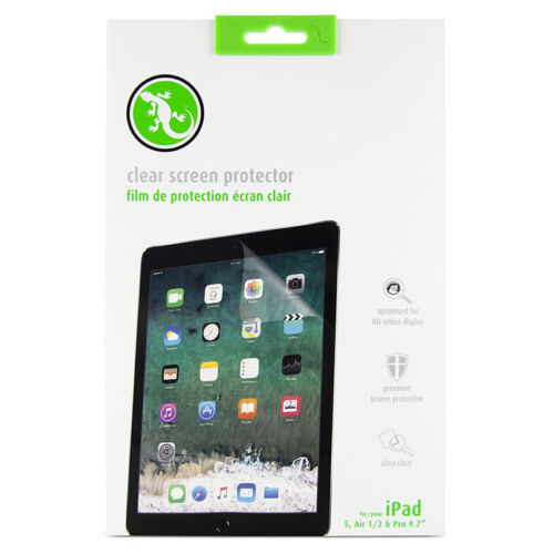 Gecko Gear 2 x clear protective films for iPad Air 1+2 RRP $19.95