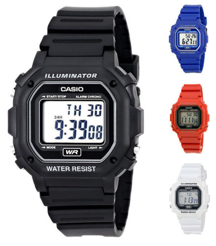 Casio Unisex Classic Digital Large Case 7-Year Battery Resin Watch