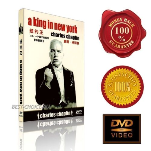 A King In New York  (1957) - Charlie Chaplin -  NEW DVD