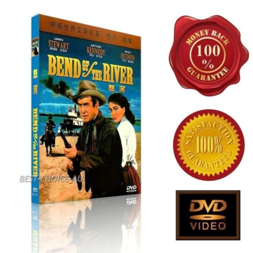 Bend of the River  - James Stewart -  (1952) - NEW DVD