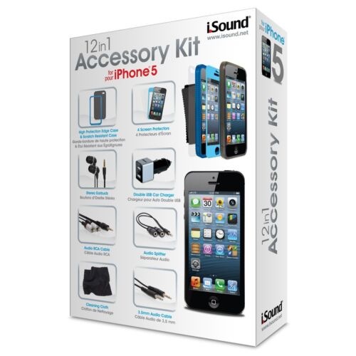 iSound 12in1 Accessory Kit for iPhone 5