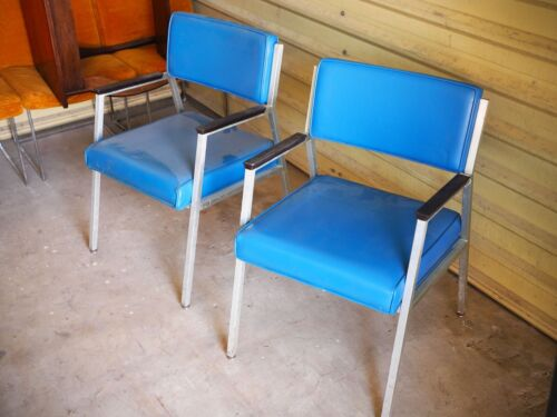 Pair of Vintage Shaw Walker Office Chairs