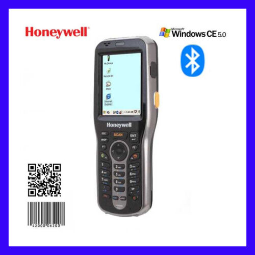 HONEYWELL 6100  6100EP11111E0H BLUETOOTH WIFI 1D 2D QR CODE WIN CE 5.0  RESET !!