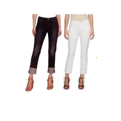 NEW!! Jessica Simpson Midrise Straight Cuff Jeans Variety