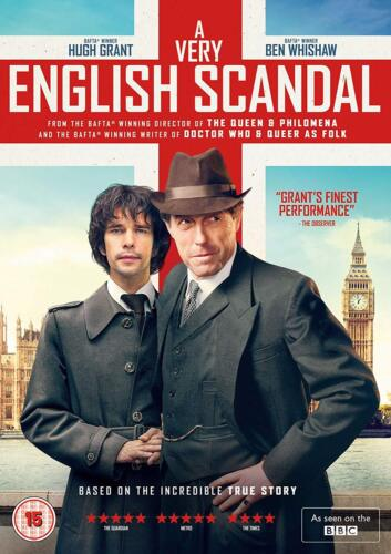 A Very English Scandal Seires Season 1 DVD R4 New Hugh Grant & Ben Whishaw <br/> In stock. Ready for dispatch from Melbourne
