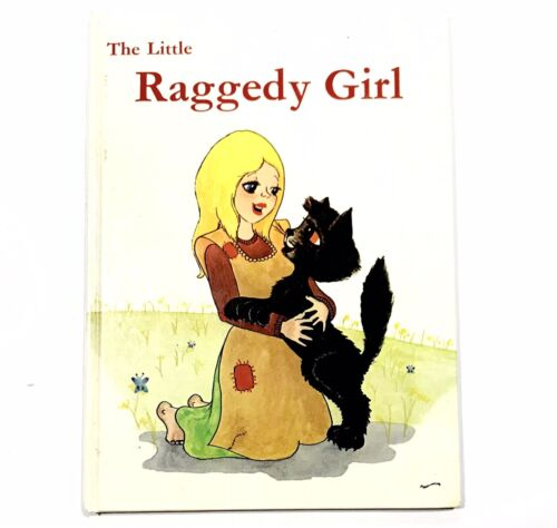The Little Raggedy Girl John Kenney Lois Simpson 1978 Autographed FREE SHIPPING
