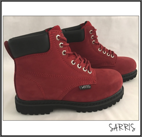 Ankle High Lace-Up Safety Work Boots Steel Toe Cap