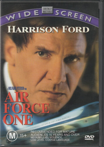 Air Force One DVD Region 4 [Australia] Excellent Condition