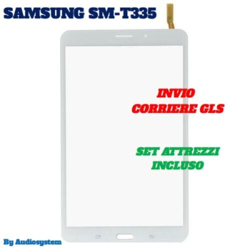 SDA VETRO+TOUCH SCREEN +TOOLS SAMSUNG per GALAXY TAB 4 SM-T335 8