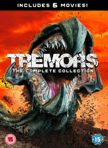 Tremors Anthology 1, 2, 3, 4, 5 & 6 DVD Movies collection New & Sealed