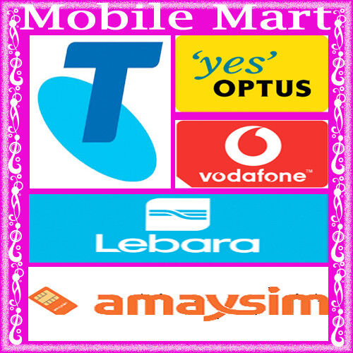AmaySIM◉Lebara◉Belong◉Pre-Paid SIM Card Kit◉$2 $10 $20 $30 $40 $50◉3G 4G◉Tri-Cut