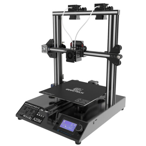 3D Printer Geeetech A20M  2 in 1 out Extruder Auto-leveling mixing color