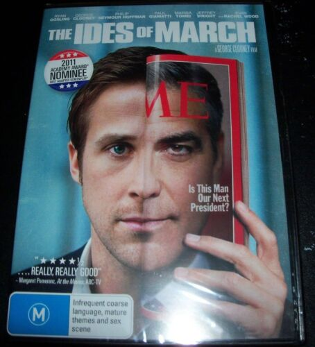 The Ides Of March (Ryan Gosling & George Clooney) (Australia Region 4) DVD - NEW