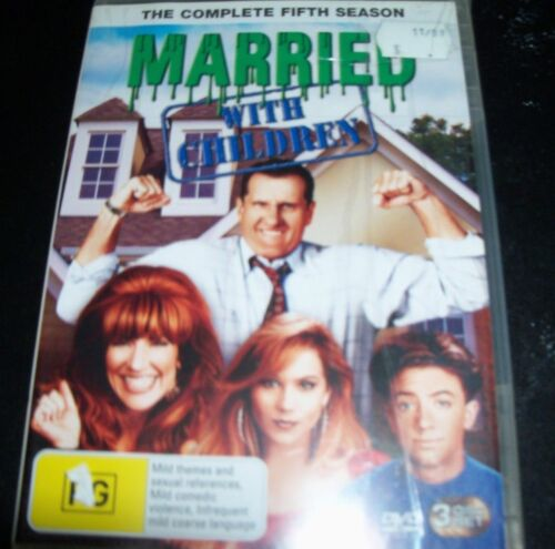 Married With Children The Complete Fifth Season 5 (Australia Region 4) DVD - NEW