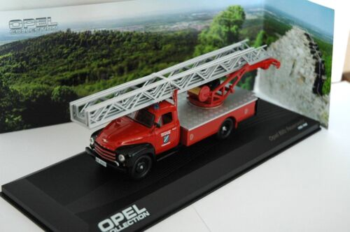 CAMION  POMPIER OPEL BLITZ 1/43 EME NEUF IXO OPEL COLLECTION
