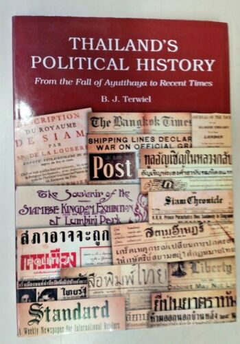 Thailand's Political History By B.J. Terwiel (Paperback,2005)