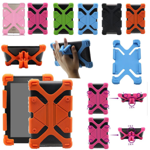 """Universal Soft Silicone Case Shockproof Cover For 7"""" 7.9"""" 8.4"""" 10"""" 10.1"""" Tablet"""