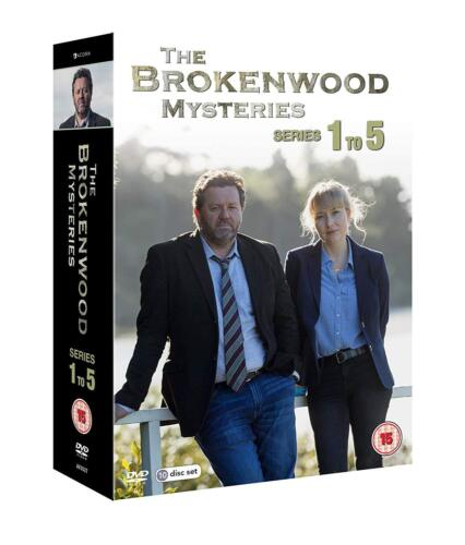 The Brokenwood Mysteries Season Series 1, 2, 3, 4 & 5 DVD Box Set R4 New