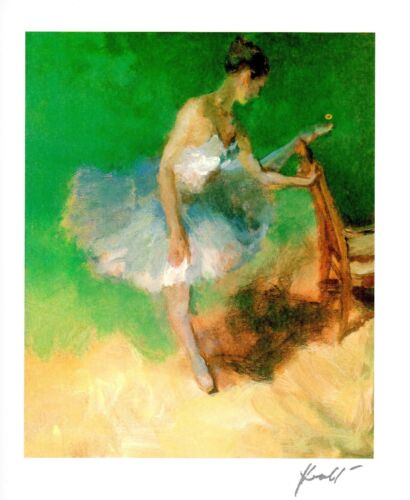 """HUA CHEN """"BALLERINA"""" 2013 SERIOLITHOGRAPH~PARK WEST GALLERY ISSUANCE"""