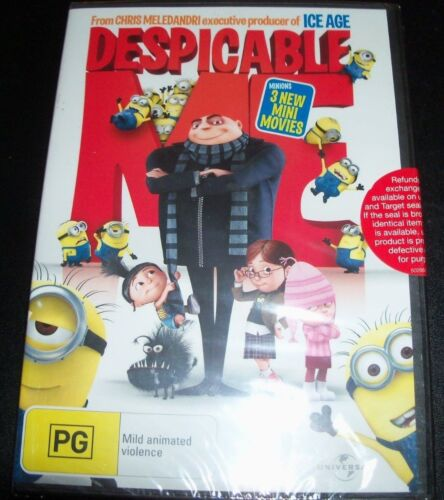 Despicable Me (Australia Region 4) DVD – New