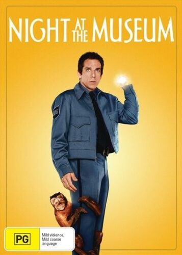 Night At The Museum (DVD, 2018) new, sealed