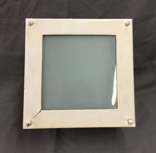 Vintage Square Recessed Ceiling Light Mid Century Closet Hall Old  67-19D