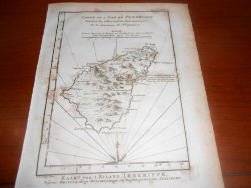 1760 PREVOST COPPER PLATE TENERIFE CANARY ISLANDS SPAIN AUTH: SCHLEY