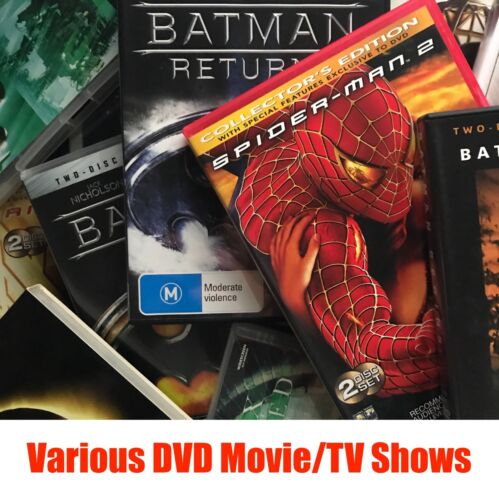 Clearance DVD Movies & TV shows - Pick a Title - Buy 3 Get 1 Free