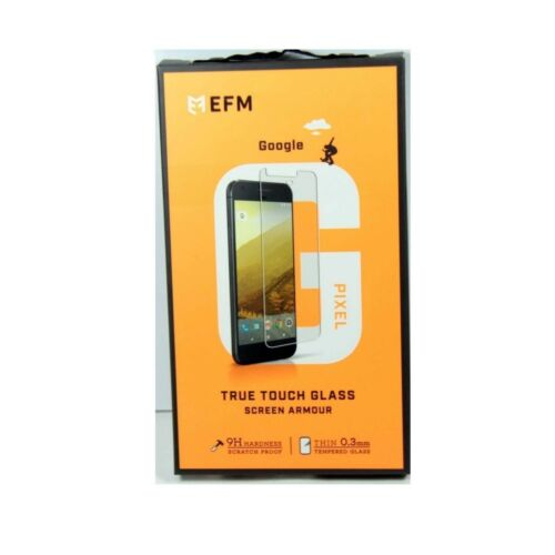 EFM SCREEN PROTECTOR FOR GOOGLE PIXEL ARMOUR TRUE TOUCH GLASS NEW EFSGGGE867CLE