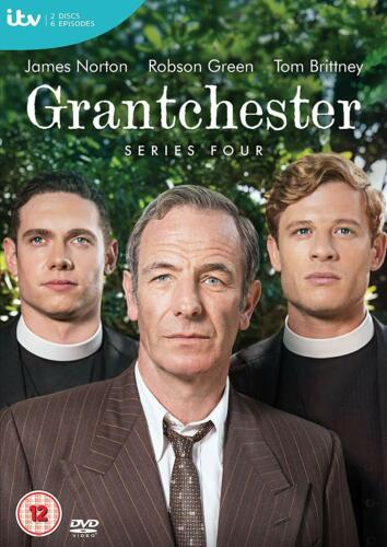 Grantchester: Series Season 4 Four DVD New & Sealed