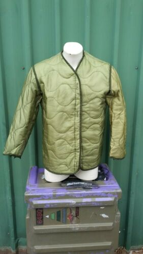 M65 Jacket Liner Insulated Size Small - Very Good Used Condition - GreenSurplus - 36075