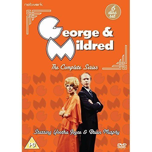 GEORGE & MILDRED - The Complete Series  DVD - 6 Disc Set ( REG 2 ) ( NEW )