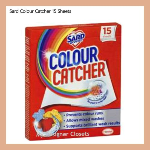 NEW Sard Colour Catcher Colour /& Dirt Magnet Laundry Clothes Protector 8 Sheets!