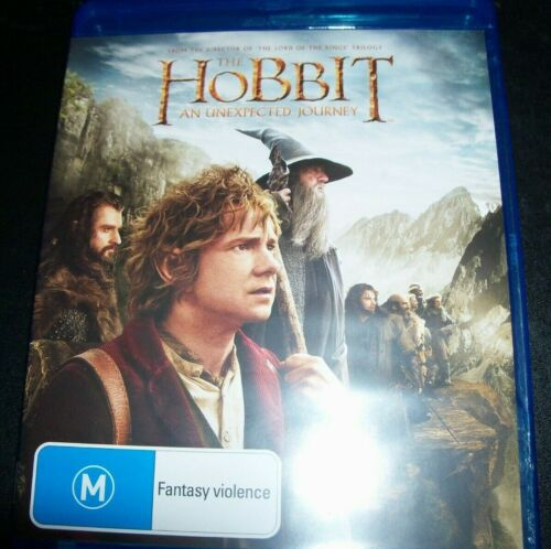 The Hobbit An Unexpected Journey (Australia Region B) Bluray – Like New