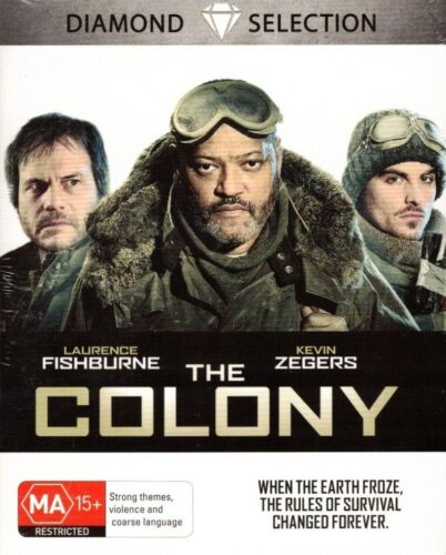THE COLONY - Blu-Ray - Laurence Fishburne, Kevin Zegers NEW & SEALED Free Post