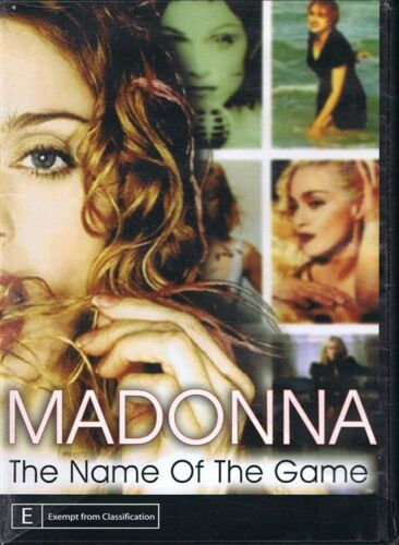 MADONNA DVD The Name Of The Game NEW Free Post