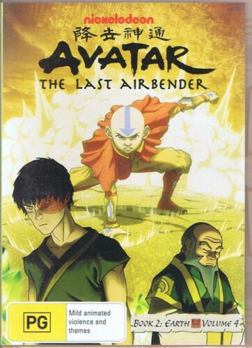 AVATAR The Last Airbender - Book 2: Earth Volume Four - NEW & SEALED R4 PAL DVD