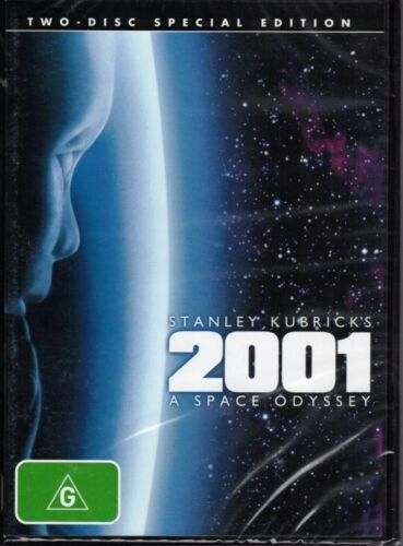 Stanley Kubrick's 2001 A SPACE ODYSSEY (2 x DVD Special Edition) NEW & SEALED