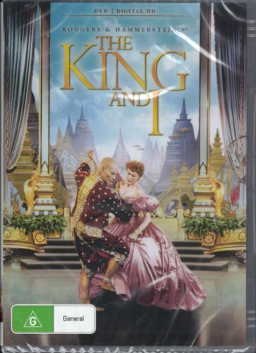 THE KING AND I DVD Starring Yul Brynner & Deborah Kerr NEW & SEALED Free Post