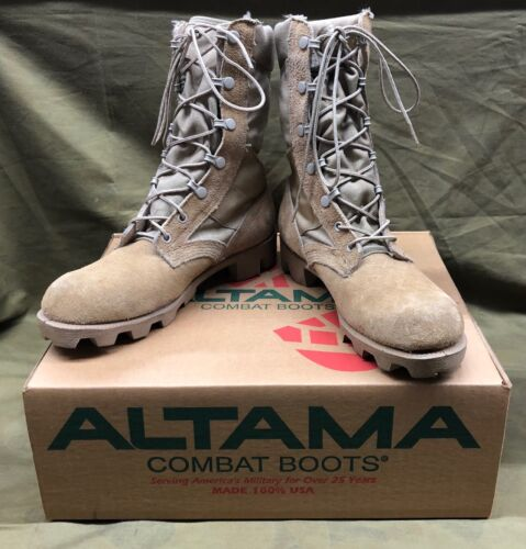 Altama - U.S Made Tan Lace Up Desert Boots