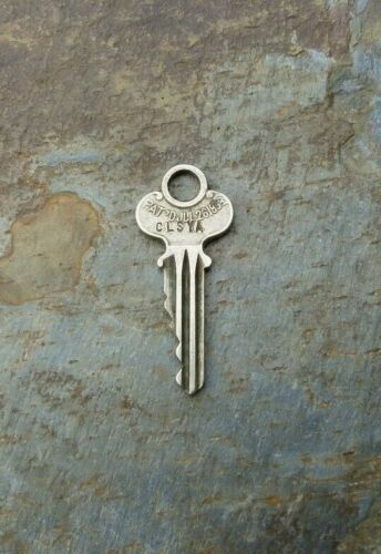 Antique Eagle Lock Co Key Patented  July 26th, 1898   Key X196