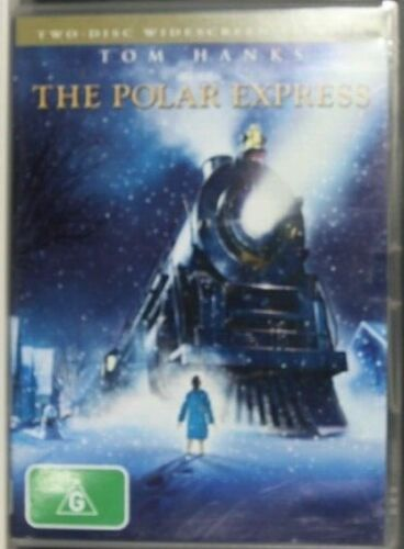 The Polar Express DVD CHRISTMAS MOVIE   - Pre-Owned (R4) (D291)