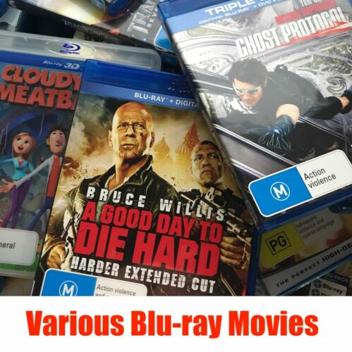 Clearance Blu-ray Movies - Pick a Title - Buy 3 Get 1 Free - FREE Shipping