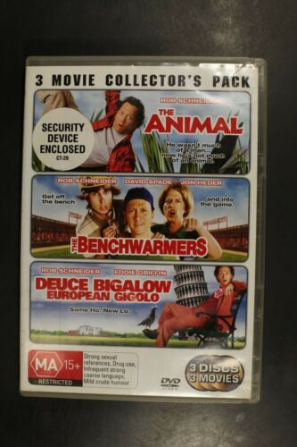 Deuce Bigalow European Gigolo / The Animal / The Benchwa - Pre-Owned (R4) (D320)