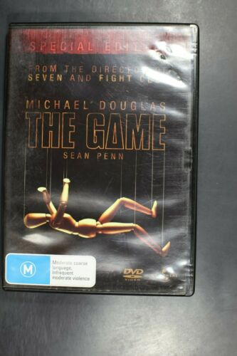 The Game - Michael Douglas - Pre-Owned (R4) (D327)
