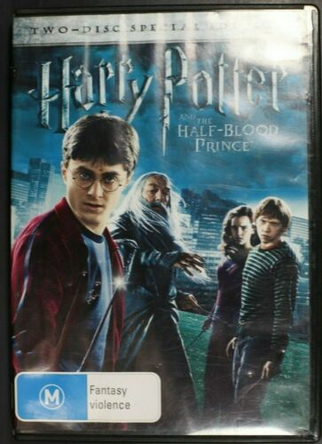 Harry Potter And The Half-Blood Prince  -  Pre-Owned (R4) (D334)