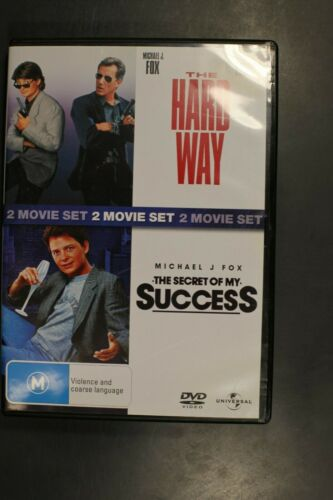 The Hard Way / The Secret of My Success Michael J Fox -  Pre-Owned (R4) (D342)