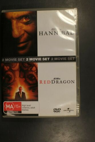 Hannibal / Red Dragon - sequels to Silence Of The Lamb -   Pre-Owned (R4) (D345)