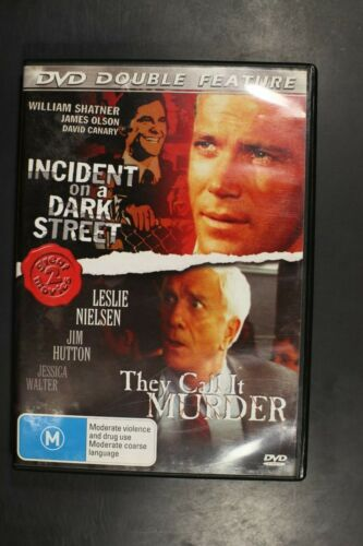 Incident On Dark Street / They Call It Murder  -  Pre-Owned (R4) (D373)